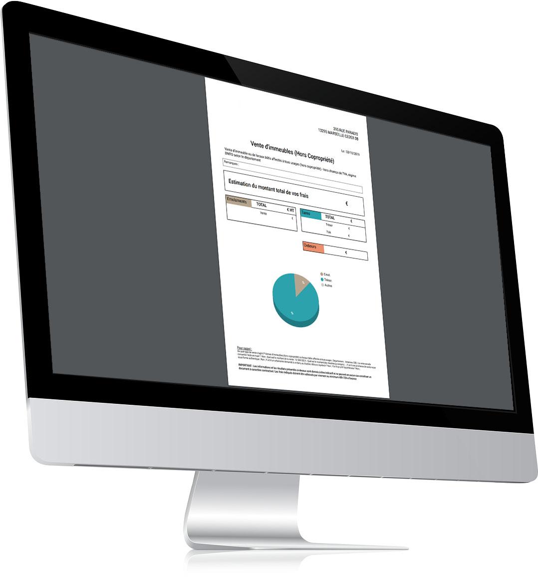 Restitution - outil en ligne